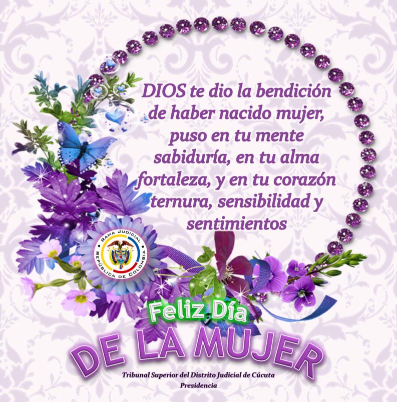 Feliz Día Mujeres Don Justo Boletín